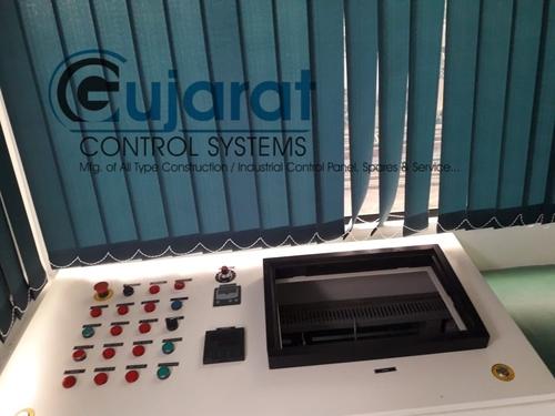 New Asphalt Batch Mix Plant Control Panel