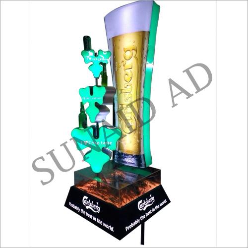 Acrylic LED Display Stand