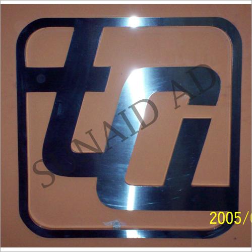 3D Stainless Steel Letter