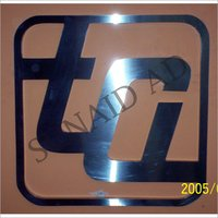 3D Stainless Steel Letter