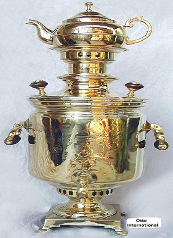 Magnificent Barrel Shaped Samovar