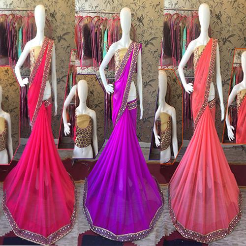 Sahi Chiffon Designer Saree