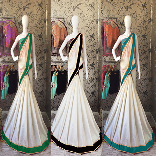 Fancy Cotton Silk Woven Saree