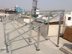Solar Power Plant Mounting Structure