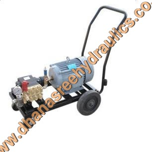 Hydrostatic Motorized Water Test Pump