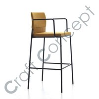 GOLDEN SEAT IRON BAR CHAIR