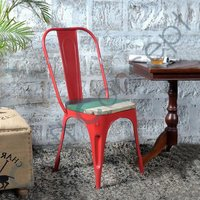 RECLAIM SEAT IRON CHAIR