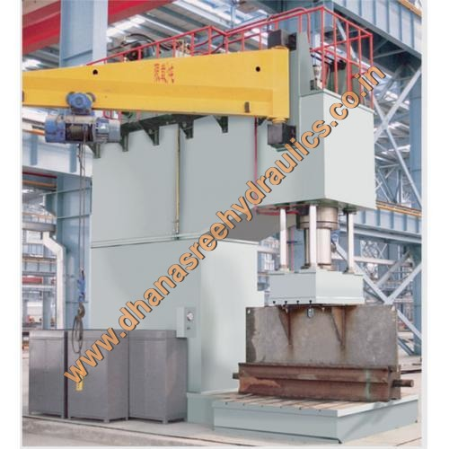 C- Frame Hydraulic Press Machine