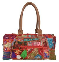 Vintage banjara fabric Hand Purse
