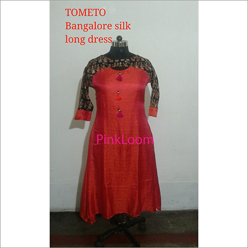 Tometo Bangalore Silk Long Dress