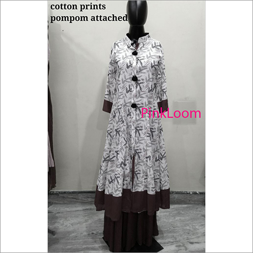 Cotton Prints Ladies Kurtis