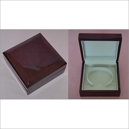 Polished Wooden Jewellery Box