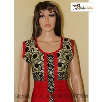 Rayon cotton Sleevless kurti