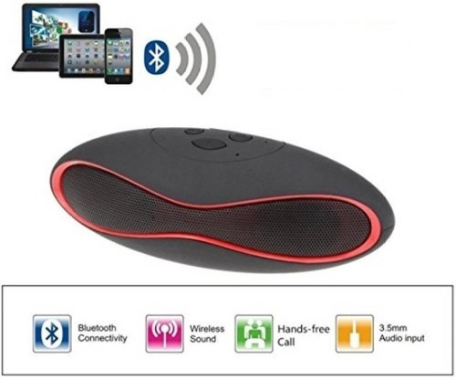 Rugby X6 Mini Portable Digital Mini-card Bluetooth 3.0 Music Speaker