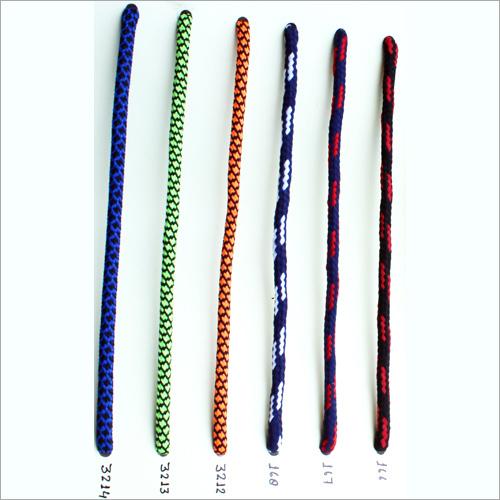 Multi Color Flat Polyester Shoe Laces
