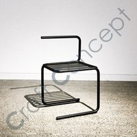 ILLUSION STRUCTURE METAL CHAIR