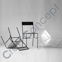 SIMPLE LOOK METAL CHAIR