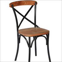 Cross Back Cafe Chair