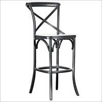 Nickel Plated Bar Chair