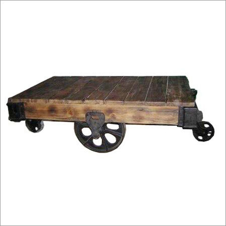 Wheel Coffee Table