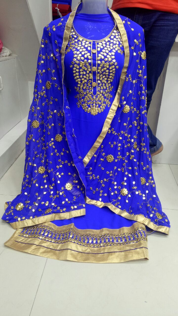 Bandhani Suit