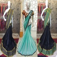 Fancy Designer Cotton Silk Saree