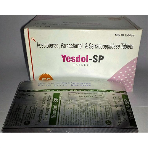 PCD Pharma Paracetamol & Aceclofenac Tablet