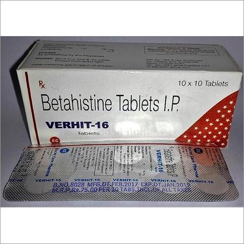 Betahistine Dihydrochloride 16 mg tablets