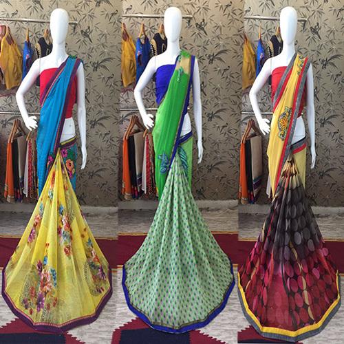 Georgette Fancy Designer Saree