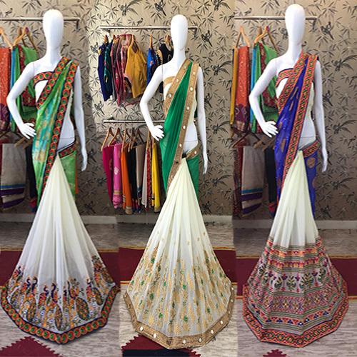 Designer Weddiing Wear Saree