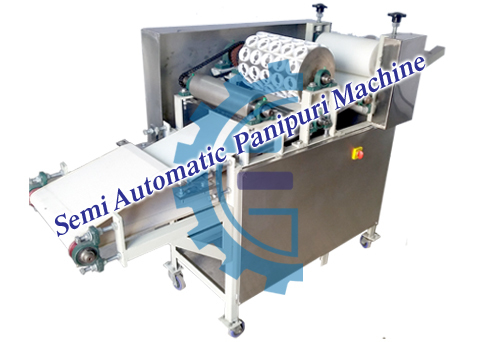 fully automatic pani puri  making machine-PPM12K