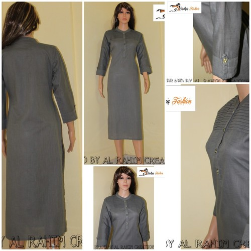 Cotton Gray Kurti