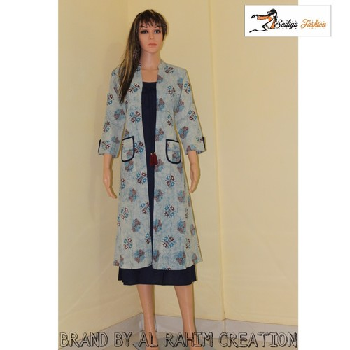 Full Sleev Jacket Kurti
