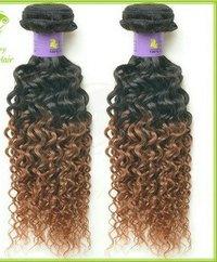 2 Ton curly hair