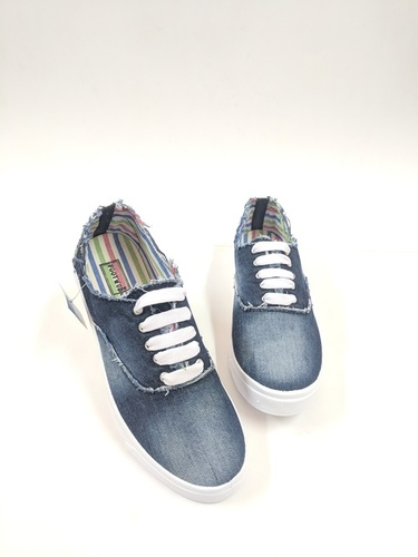 MEN Denim Canvas Shoes