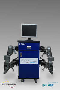 Computer Wheel Alignment Machine