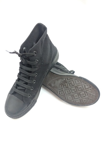 Men Rubber Canvas Shoes