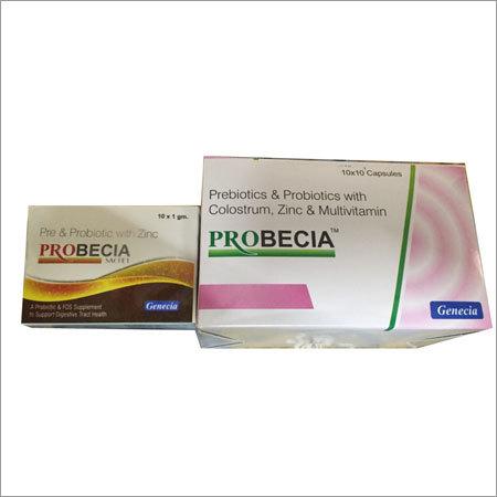 Pre and Probiotic Capsules