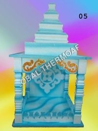 Thermocol Two color Creative Temple
