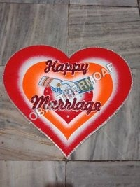Thermocol Wedding Heart