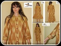 Ikat cotton designer kurtis