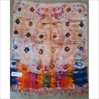 VISCOSE SATIN COLOURFUL MULTI STOLES