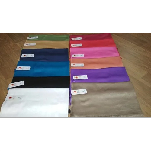 VISCOSE SATIN PLAIN SOLID PASHMINA