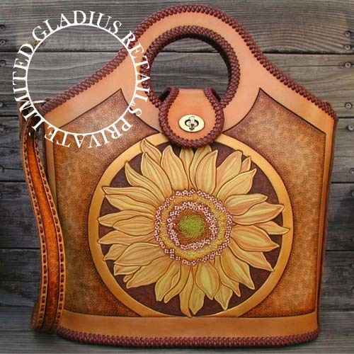 Ladies Leather Fancy Bags and Purse