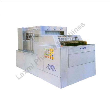 Automatic Linear Bottle Washing Machine (Tunnel Type)