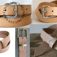 Mens Designer Leather Belts