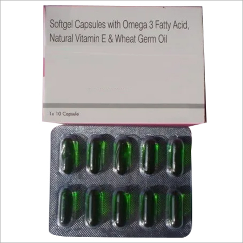 Vitamin E and Wheat Germ Oil Capsules