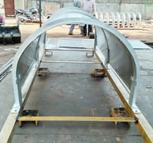 Galvanized Steel Conveyor Belt Hoods
