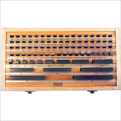 Carbide Slip Gauge Box