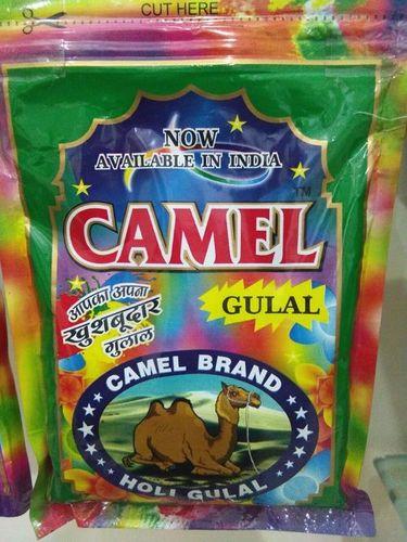 Camel Holi Gulal Zipper Pouch